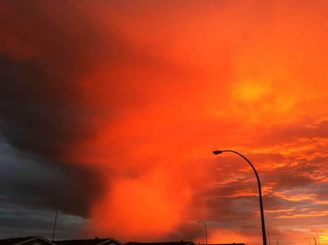 sunrise Stony Plain, Alberta Canada
