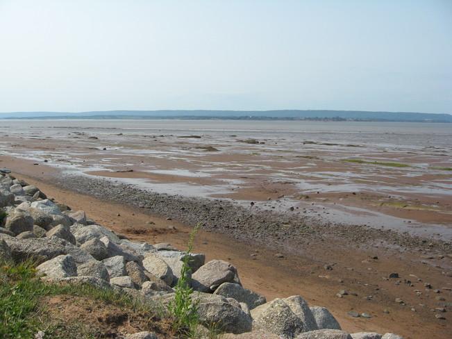 Evangeline Beach, Grand-Pré, NS Wolfville, Nova Scotia Canada