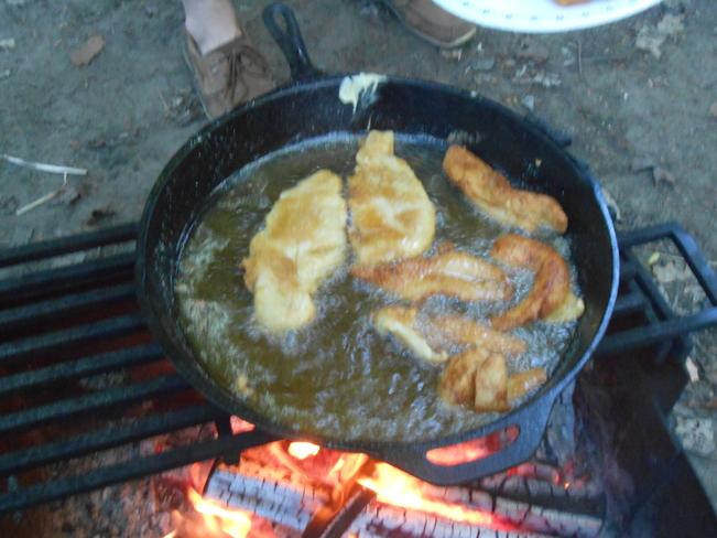 fish fry Parry Sound, Ontario Canada