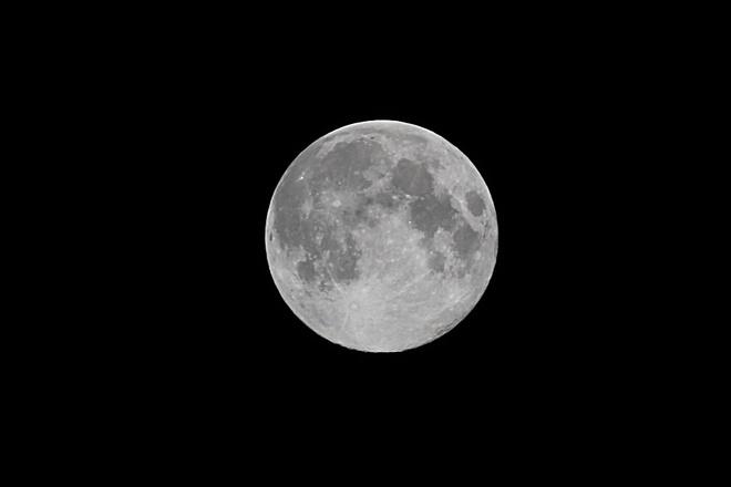 Blue Moon Over London London, Ontario Canada