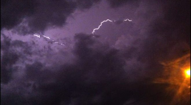 Lightning Kenora, Ontario Canada