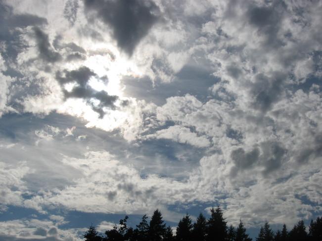 sky blanket Surrey, British Columbia Canada