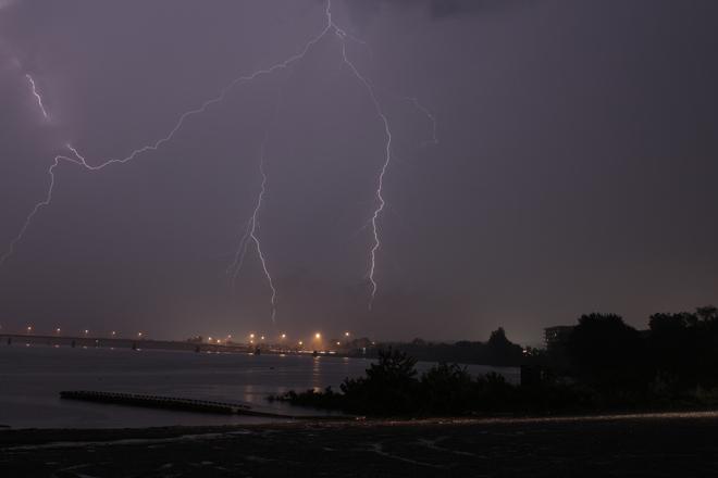 Lightning Fredericton, New Brunswick Canada