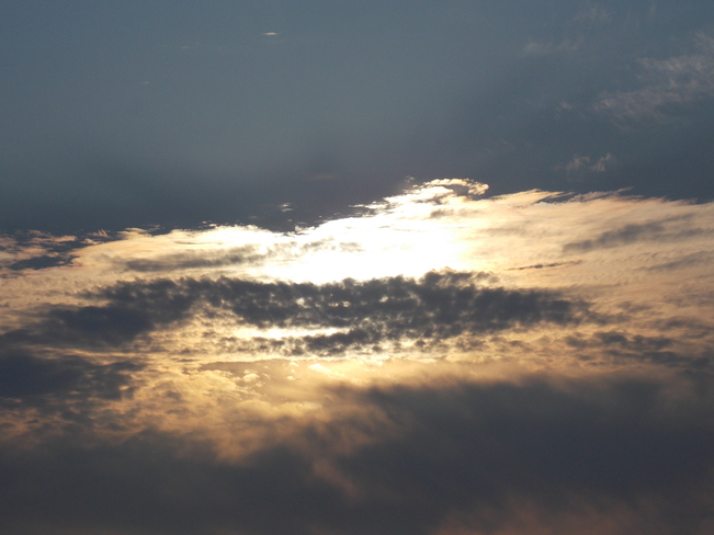 Strange sky Lunenburg, Nova Scotia Canada