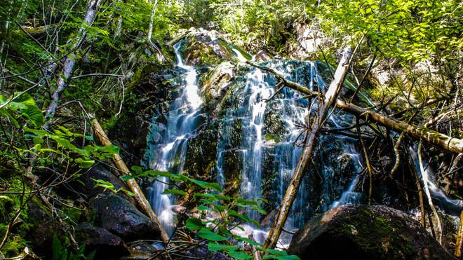 side falls @ Mary Pitcher falls Saint Martins, New Brunswick Canada