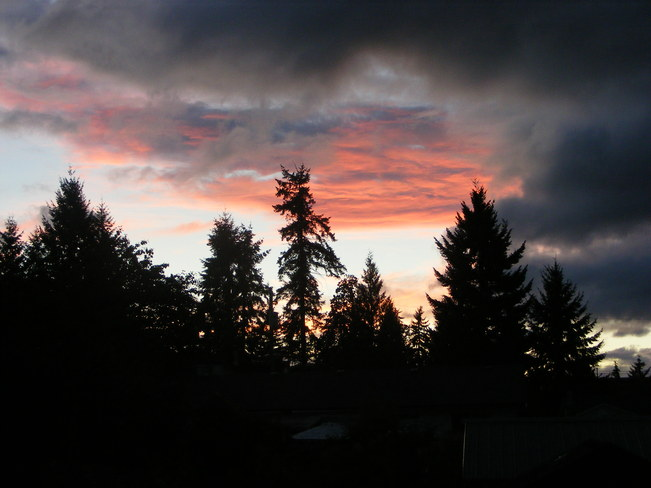 Beautiful Sunset Ladysmith, British Columbia Canada