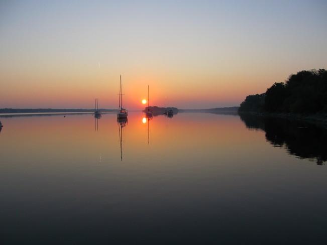 Sunrise At The Rockcliffe Yacht Club Ottawa Ontario Ottawa, Ontario Canada