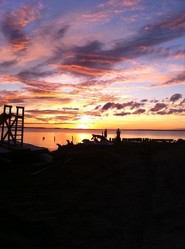 Gorgeous Sunset Slave Lake, Alberta Canada