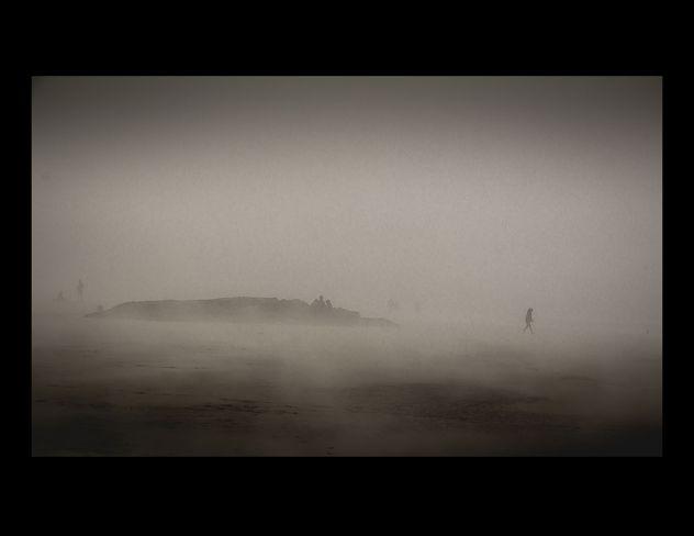 Chesterman Beach Fog Tofino, British Columbia Canada
