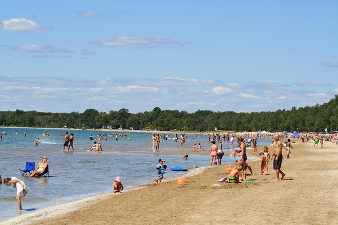 LIFES A BEACH Sand Banks, Ontario Canada