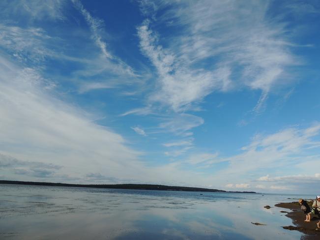 Sand Dollar Beach Bay Port Novca Scotia August 23rd 2013 Riverport, Nova Scotia Canada