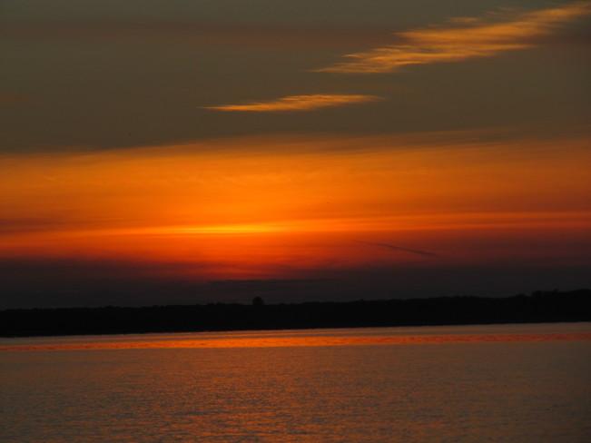 Sunset on the Ottawa River Ottawa, Ontario Canada