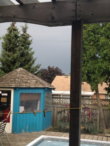 incoming storm Cambridge, Ontario Canada