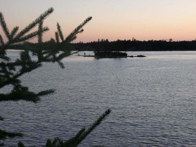Sunset Island Eleanor Lake Selkirk, Manitoba Canada