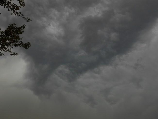 awsome storm cloud Revelstoke, British Columbia Canada