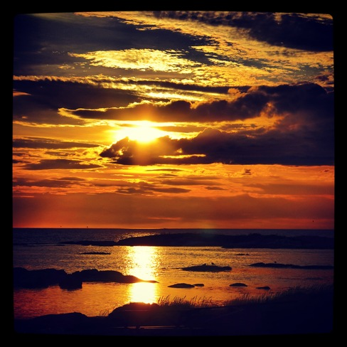 Sunset on Fogo Island Joe Batt's Arm-Barr'D Islands-Shoal Bay, Newfoundland and Labrador Canada