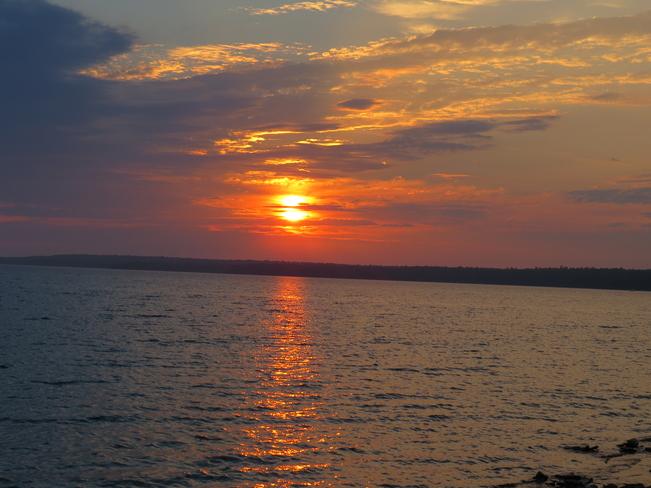 Beautiful Sunrise South Baymouth, Ontario Canada
