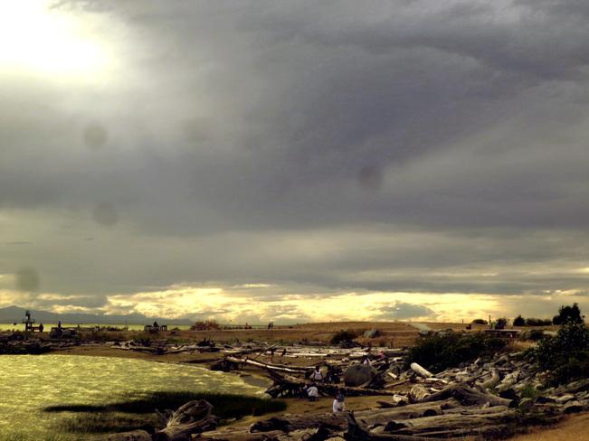 Brewing Rain ? or what Bowen Island, British Columbia Canada