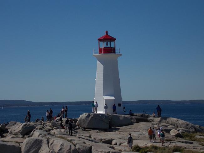 Beauty Day on the rock ! Peggy's Cove, Nova Scotia Canada