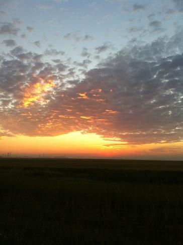 sunrise Winnipeg, Manitoba Canada
