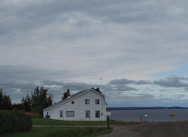 Un matin sous les nuages Roberval, Quebec Canada