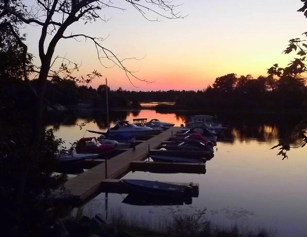 Georgian Bay Sunset Honey Harbour, Ontario Canada