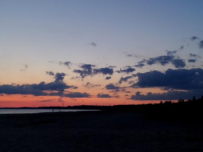 Sunset In Port Burwell Port Burwell, Ontario Canada