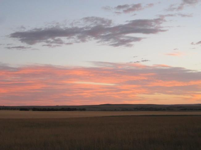 Cypress Hills tonight Maple Creek, Saskatchewan Canada