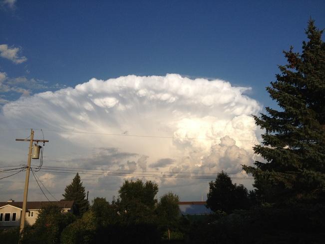 Storm heading east Ste. Rose du Lac, Manitoba Canada