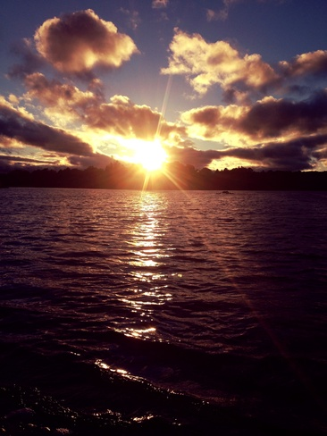 sunset Brampton, Ontario Canada