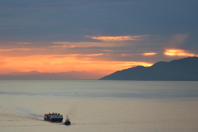Sunset View Vancouver, British Columbia Canada