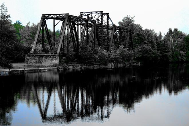 Canal Bridge Glen Ross, Ontario Canada