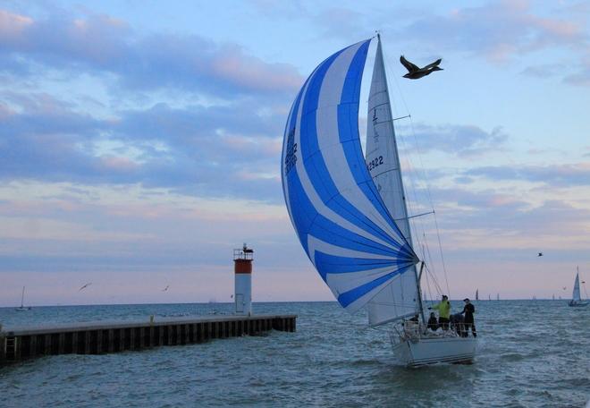Sailing Port Dover, Ontario Canada