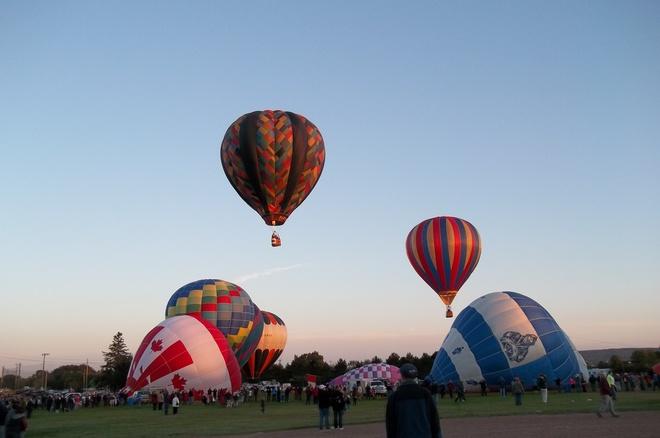 sussex balloon festival Moncton, New Brunswick Canada