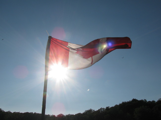 Canadian Flag Westport, Ontario Canada