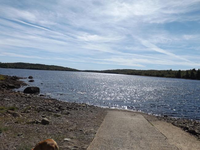 black river lake Wolfville, Nova Scotia Canada