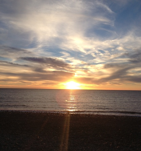 Beautiful Sunset Lawrencetown, Nova Scotia Canada
