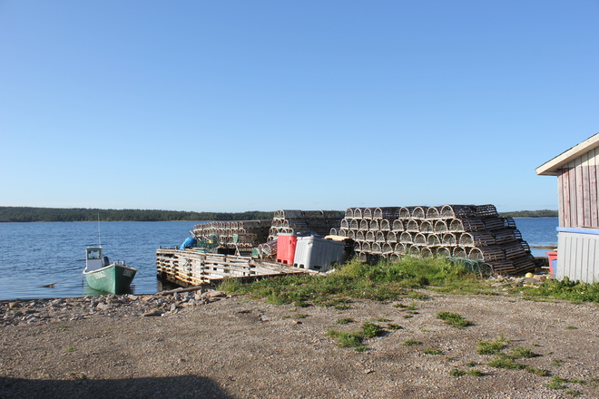 summer day Port Saunders, Newfoundland and Labrador Canada