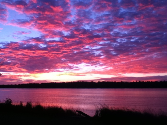 Sunrise Barachois, New Brunswick Canada