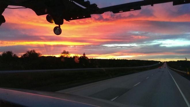 morning sun Windsor, Nova Scotia Canada