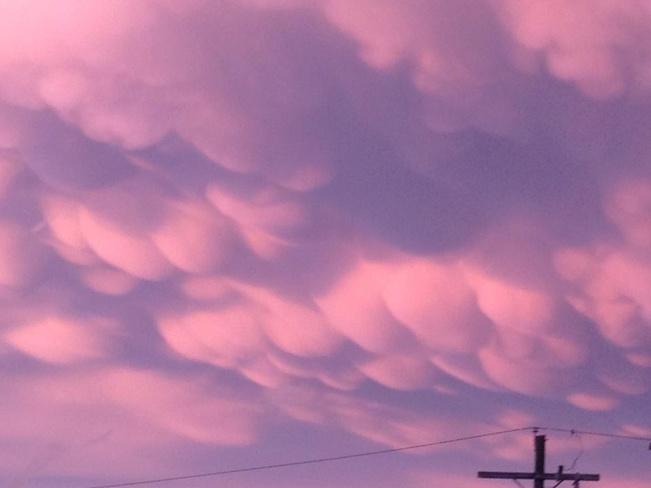 Strange Clouds... Ashern, Manitoba Canada