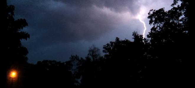 Intense Lightning in London Ontario London, Ontario Canada