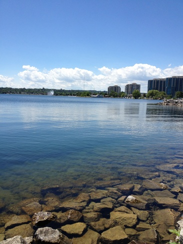 Clear Blue Barrie, Ontario Canada