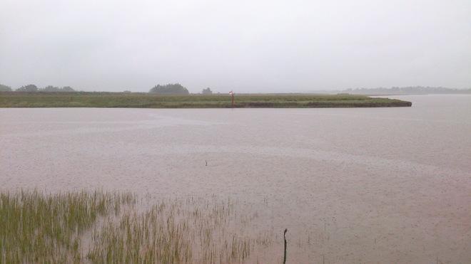 Rain Rain Rain in the Valley Wolfville, Nova Scotia Canada