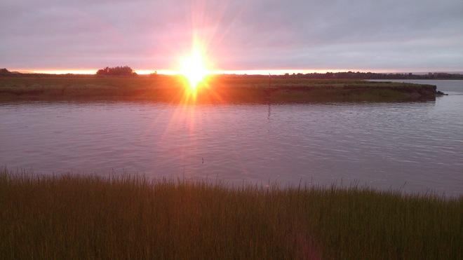Wolfville sunset Wolfville, Nova Scotia Canada