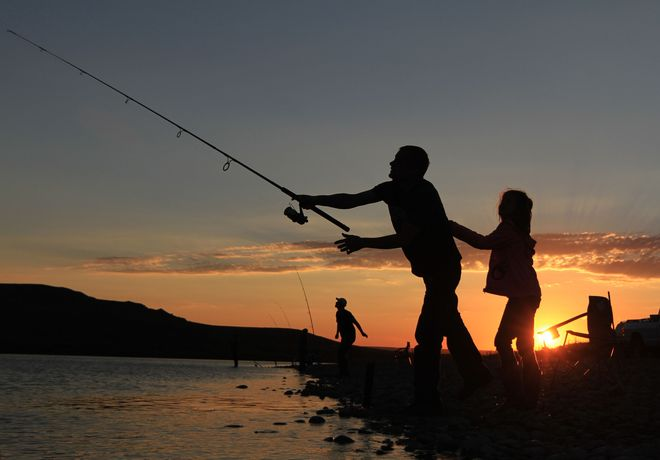 fishin Brooks, Alberta Canada