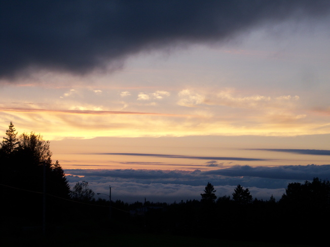 sunset Nappan, Nova Scotia Canada
