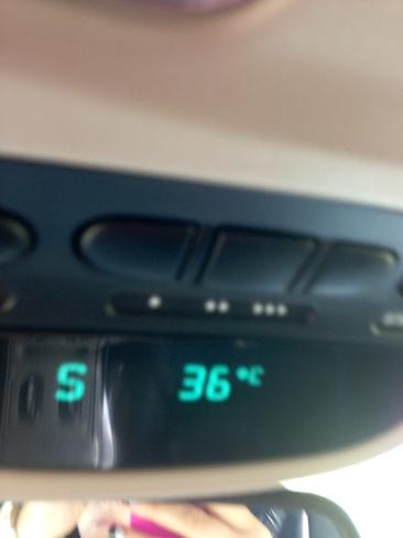 Hottest day of the summer Estevan, Saskatchewan Canada