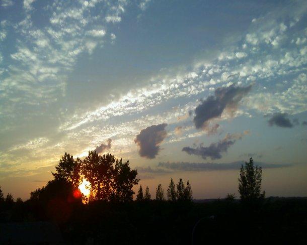 sunriset Brandon, Manitoba Canada