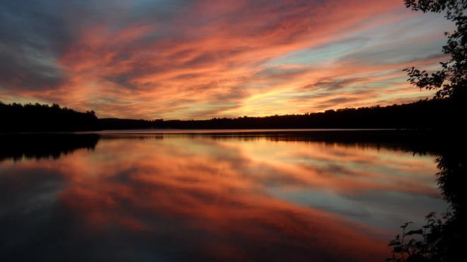 Sunrise Cayamant, Quebec Canada